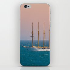The sun on the sailing ship iPhone & iPod Skin