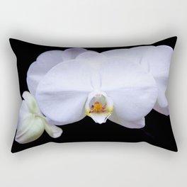 White Orchid2 Rectangular Pillow