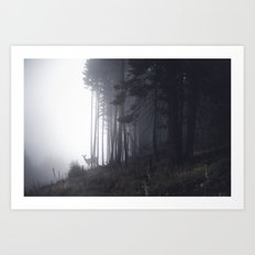 tell me about the forest II Art Print