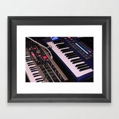 Syntheseizers (Free Music danalog1.bandcamp.com) Framed Art Print