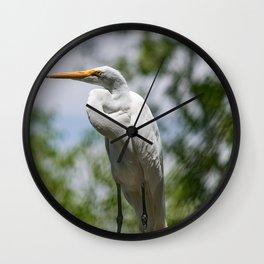 Great Egret - Utah Wall Clock