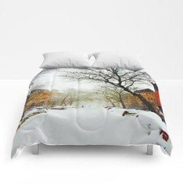 NYC @ Snow Time Comforters