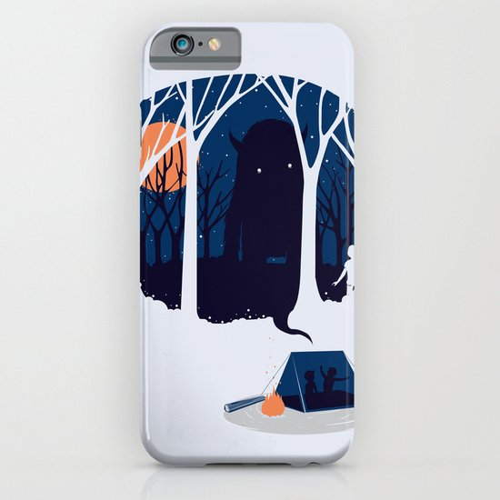 Scary story iPhone & iPod Case