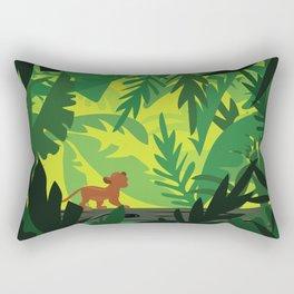 Lion King - Simba Pattern Rectangular Pillow