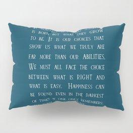 Dumbledore wise quotes Pillow Sham