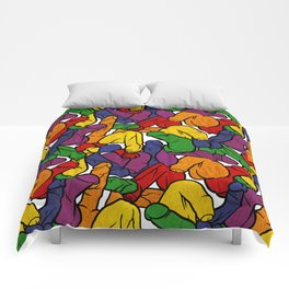 Schlong Song in Rainbow, All the Penis! Comforters