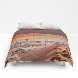 Leave only foortprints Comforters