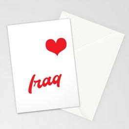 My Heart Belongs To Iraq Stationery Cards