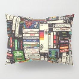 Cassettes, VHS & Games Pillow Sham