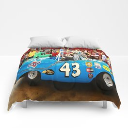 Supped Up Blue Convertible Comforters
