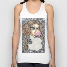 Peoples Princess (freckles) Unisex Tank Top