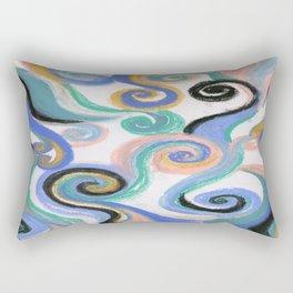 Number Three Rectangular Pillow