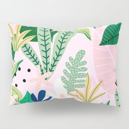 Into the jungle - sunrise Pillow Sham