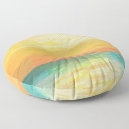 Summer Sunset Floor Pillow