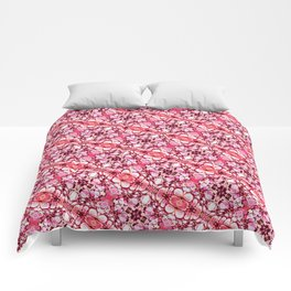 30 degree pink & red Comforters