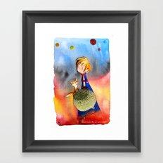 Little Prince Framed Art Print