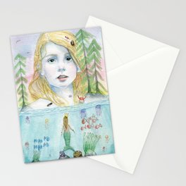 Queen of the Sea Stationery Cards