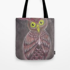 Stylized Owl Tote Bag