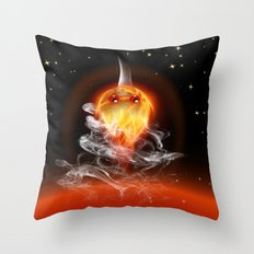 Feuerfisch - fire fish Throw Pillow
