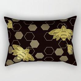Worker Bees Rectangular Pillow
