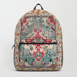 N132 - Heritage Oriental Traditional Vintage Moroccan Style Design Backpack