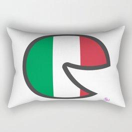 Italy Smile Rectangular Pillow