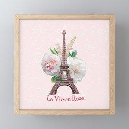 La Vie en Rose Framed Mini Art Print
