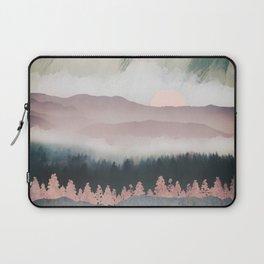 Forest Lake Evening Laptop Sleeve