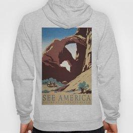 Vintage poster - Southwest US Hoody