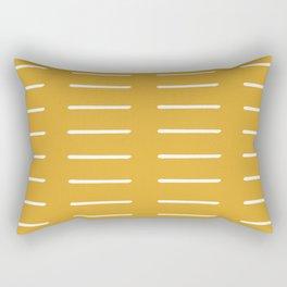 organic / yellow Rectangular Pillow