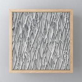 Moonlight forest Framed Mini Art Print