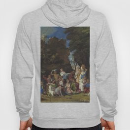Giovanni Bellini and Titian The Feast of the Gods 1514 1529 Painting Hoody