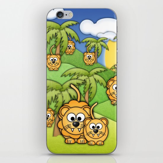 Little Lions. iPhone & iPod Skin