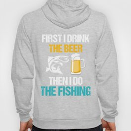 Costume For Beer And Fishing Lover. Hoody