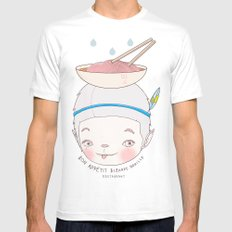 맛! Bon appetit bizarre nouille restaurant ! Mens Fitted Tee White MEDIUM