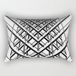 Wiggle Reflection Rectangular Pillow