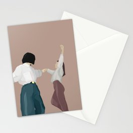 girls dancing  Stationery Cards