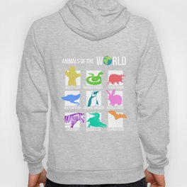 Rare Animals of The World T-shirt Snorg Tees Funny Gift Kids Hoody