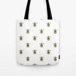 Bee Friends Pattern Tote Bag
