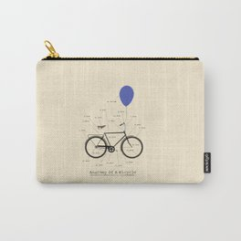 Anatomy Of A Bicycle Carry-All Pouch