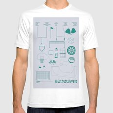 Essence Of Deadspin MEDIUM Mens Fitted Tee White