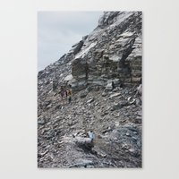 hiking Canvas Prints featuring Hiking by Mary Webb Photo