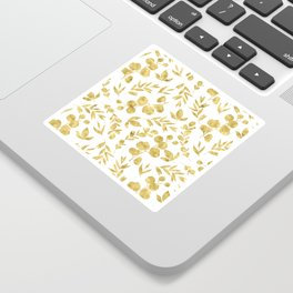 Golden Meadow Sticker