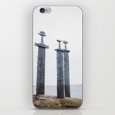 Swords in Rocks, Stavanger Norway/ Sverd i fjell iPhone & iPod Skin