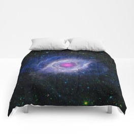 The Helix Nebula Comforters