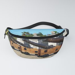 Cannons at Morro Castle Fanny Pack