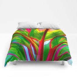 Ti Leaf Series #4 Comforters