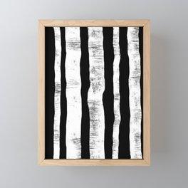 Birches Framed Mini Art Print