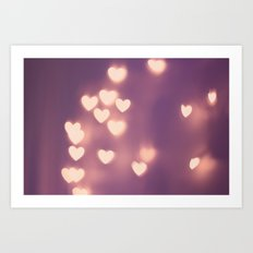Your Love is Electrifying Art Print