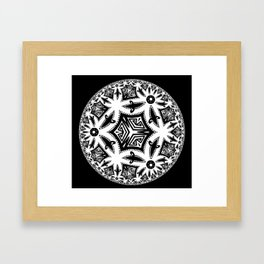 Clean Oceans Framed Art Print